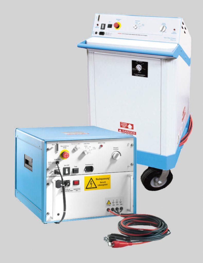 Zusatzgeneratoren für Hochspannungsmaschinen